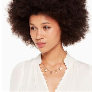 kate spade Jewelry - Kate Spade Grandma's Closet Charm Necklace NWT